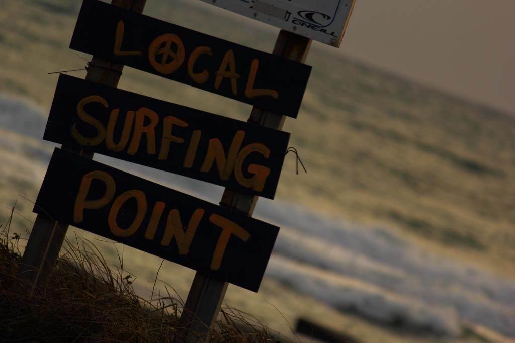 LOCAL SURFING POINT