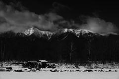 野辺山から望む八ヶ岳