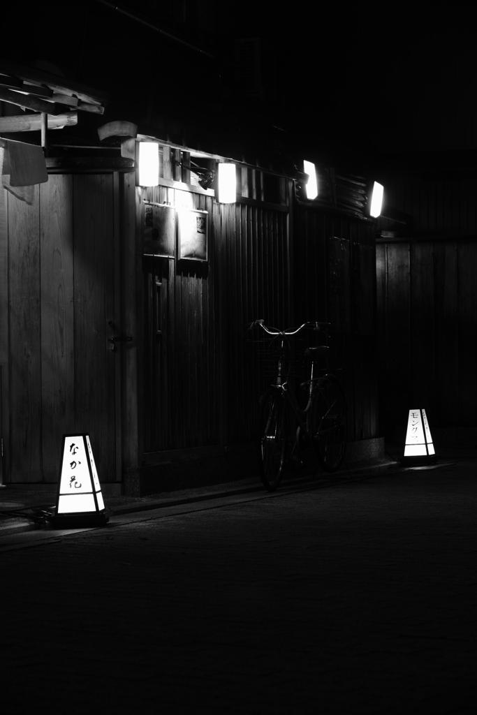 京都の夜・・