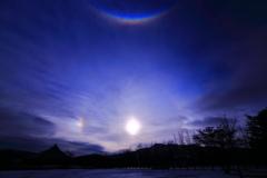 不思議な太陽の光 三題 エピローグ 幻日そして・・