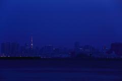 湾岸物語 (カラー編) 三題 青い時間の中の存在感・・