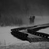 冬の湯ノ湖 三題  記念撮影