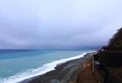 今日も穏やかな日本海
