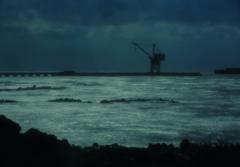 荒波の日本海を・・