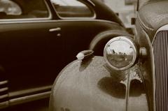 アメ車 三題   ヘッドライト