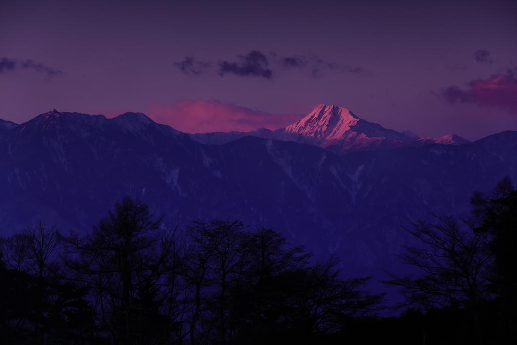 清里から見る名峰 三題  日本のK2