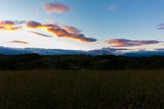 朱音、雲と羊の丘