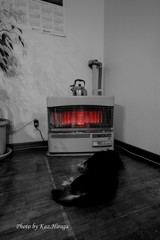 外は-22℃