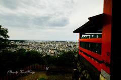 神倉神社からの眺望