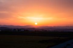 26日の夕陽.3