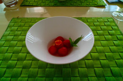 トマトの冷製??