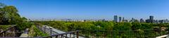 福岡城址、天守台から大濠公園