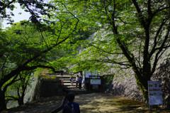 熊本城、あかずの門へ