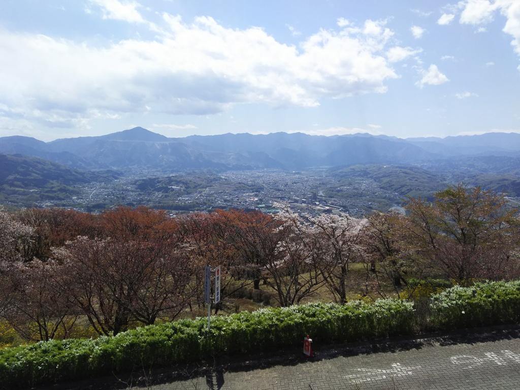 2018/04/08_美の山公園からの眺め