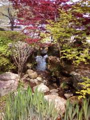 2019/04/21_道の駅和紙の里ひがしちちぶの庭園