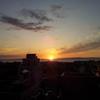 2017/09/04_宿から富山湾の夕暮れを望む