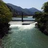 2018/04/21_愛本橋から黒部川上流を望む