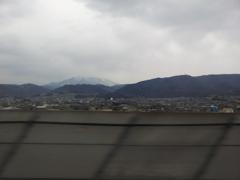 2019/04/14_北陸新幹線かがやきから妙高戸隠連山を望む