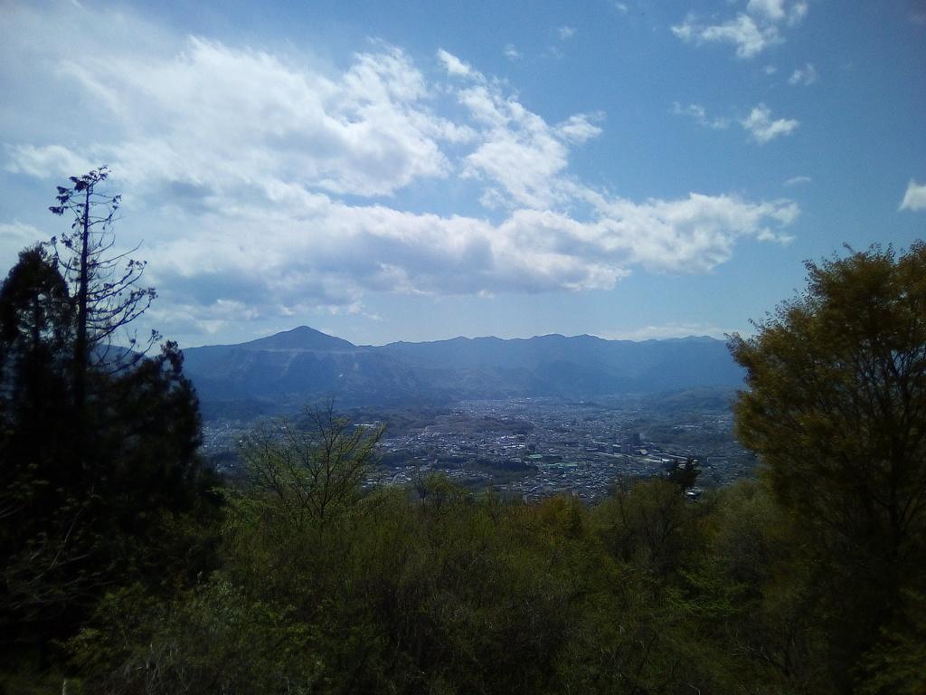 2018/04/08_簑山からの眺め