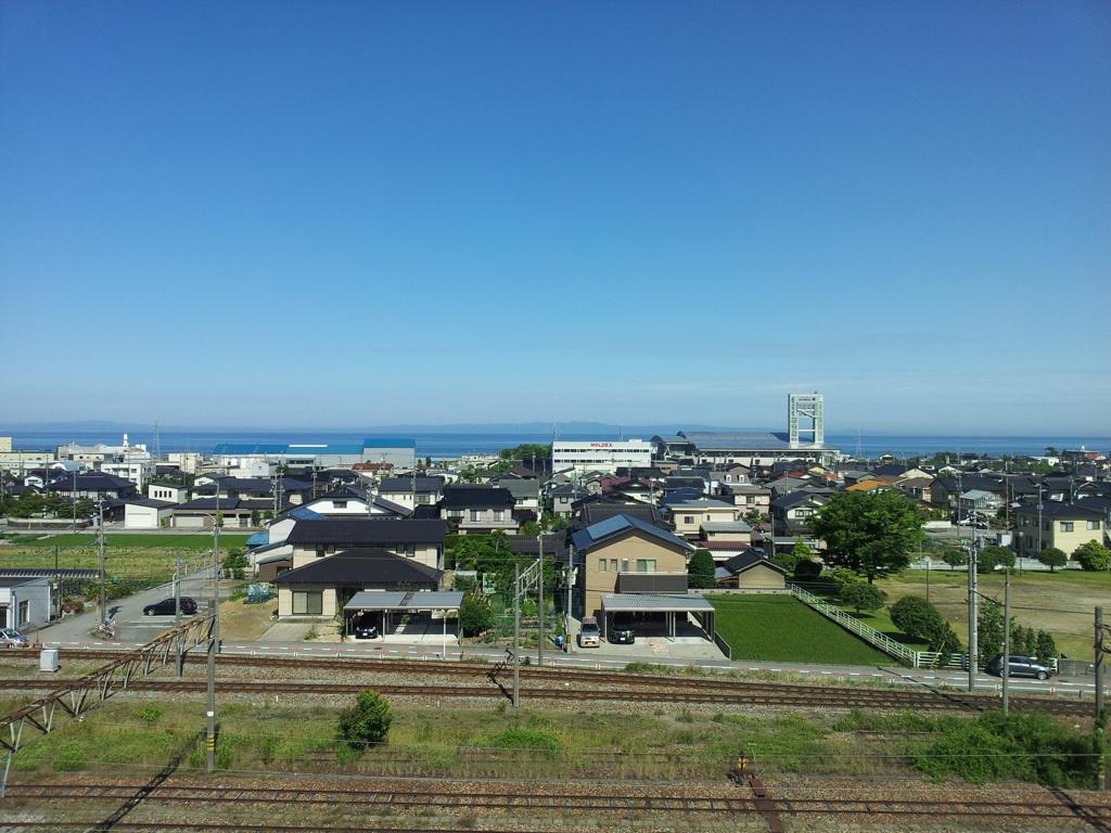 2017/06/15_宿から富山湾を望む