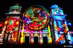 光の饗宴・中央公会堂プロジェクションマッピング