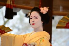 祇園さんの節分祭・舞踊奉納