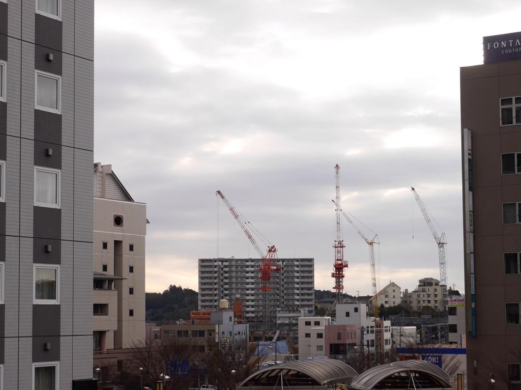開発される街