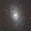 さんかく座M33銀河