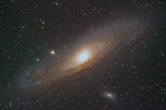 アンドロメダ星雲(M31)