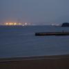 今朝の海辺