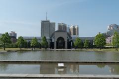 福岡市博物館 祝敷地内侵入