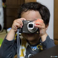 ちっちゃいカメラマン