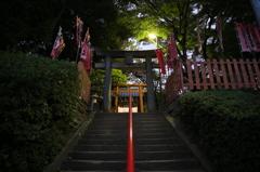 宇賀稲荷神社 石段
