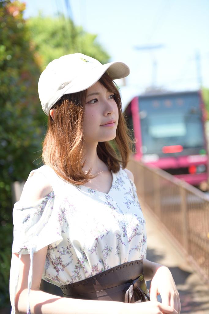初夏のポトレ撮り@都電荒川線 荒川二丁目編①