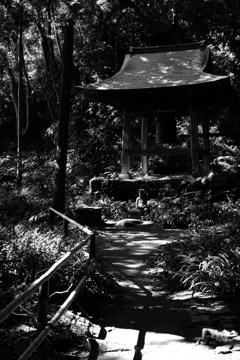 妙法寺の鐘楼