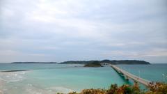 角島を望む