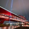 雨の神戸大橋