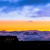 室堂山荘より望む雲海