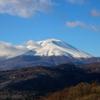 冠雪の浅間山