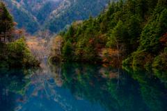静寂の大沼池
