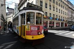リスボンの路面電車1