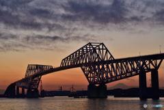 夕焼けゲートブリッジ2