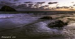 夕暮れのロングビーチ2