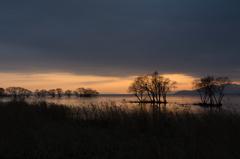 湖北の黄昏