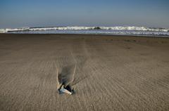 砂の上の波紋
