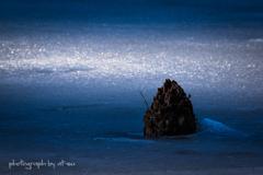 Cold blue light