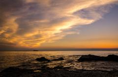 セントレアの夕景