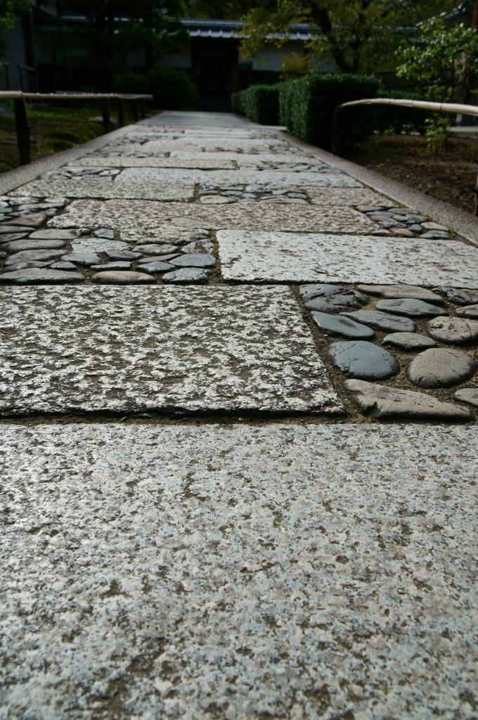 敷石in京都嵐山