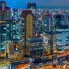 大阪秋のビル祭り。