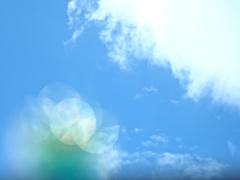 空と雲とパックマン